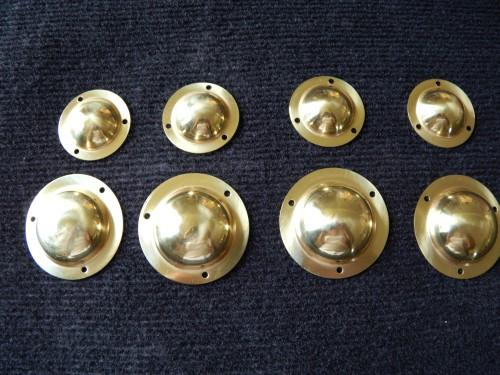 Brass Bowler Hats