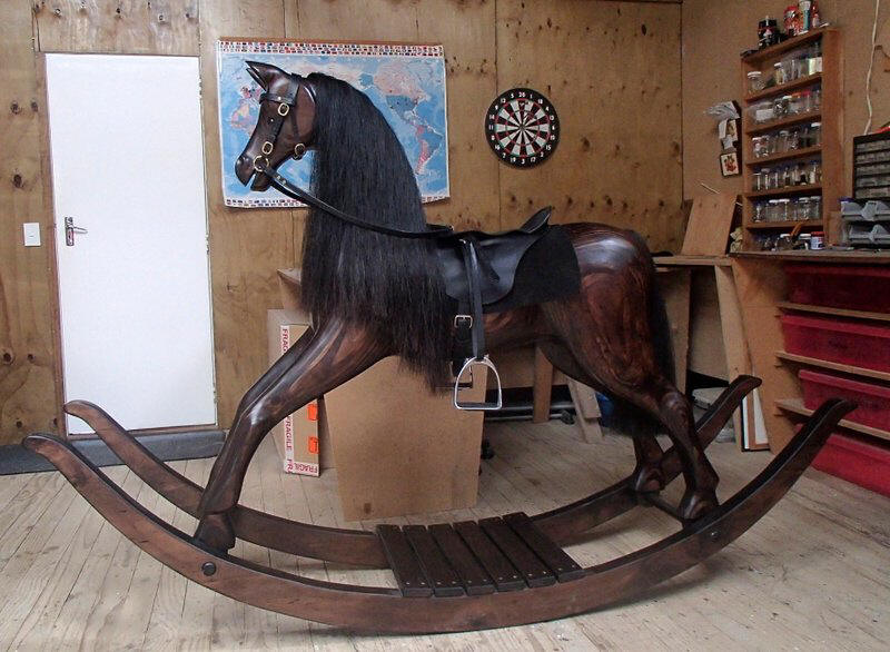 Extra large rocking horse
