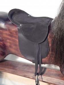 Removable Saddle in Black
