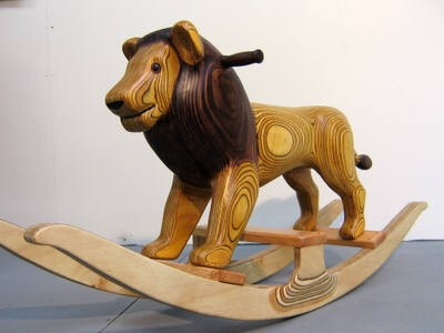 Rocking lion